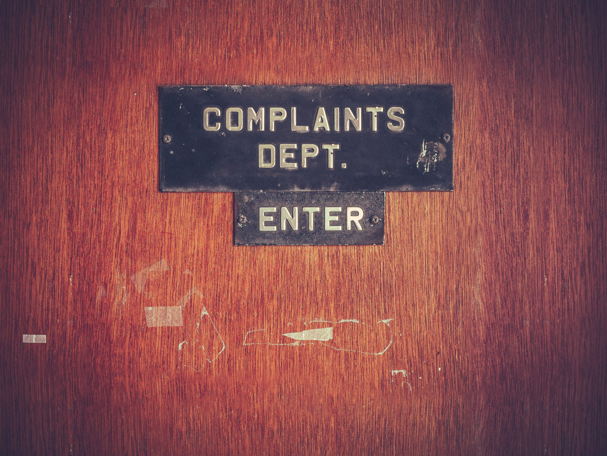 complaints about real estate agents
